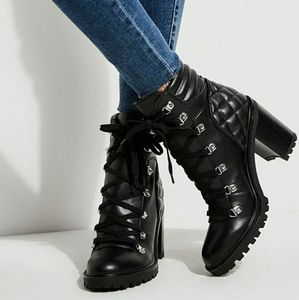 GUESS Quilted Booties